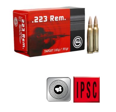 Amunicja GECO .223 REM. Target FMJ 3,6 g/55gr