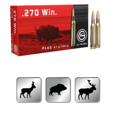 Amunicja GECO .270 WIN. Plus 9,7g /150gr