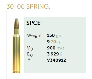 AMUNICJA SELLIER&BELLOT S&B 30-06 SPRING. SPCE 9,7 g  / 150 grs