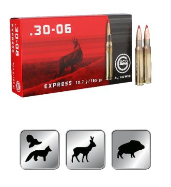 Amunicja GECO .30-06 EXPRESS 10,7g /165gr
