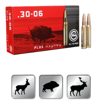 Amunicja GECO .30-06 Plus 11,0g /170gr