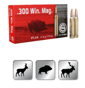 Amunicja GECO .300 WIN. MAG. Plus 11,0g /170gr