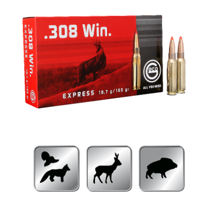 Amunicja GECO .308 WIN. EXPRESS 10,7g /165gr