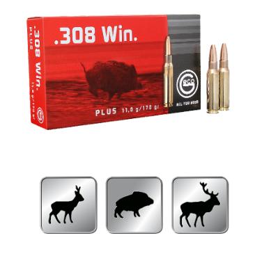Amunicja GECO .308 WIN. Plus 11,0g /170gr