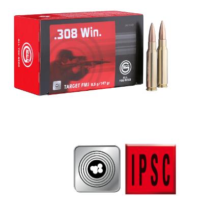 Amunicja GECO .308 WIN. Target FMJ 9,5g /147gr