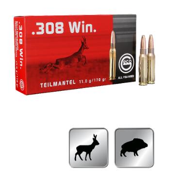 Amunicja GECO .308 WIN. TM 11,0g / 170gr