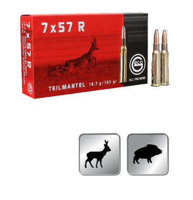 Amunicja GECO 7X57R TM 10,7g / 165gr