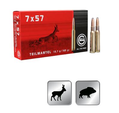 Amunicja GECO 7X57 TM 10,7g / 165gr