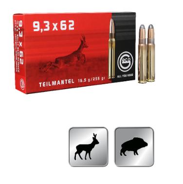Amunicja GECO 9,3X62 TM 16,5g / 255gr