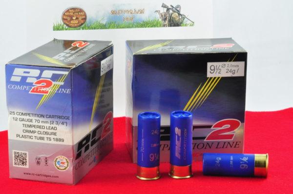 Amunicja Śrutowa RC2 kal. 12/70  24g  2,40mm