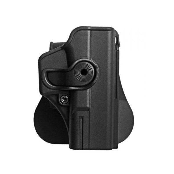 Kabura do pistoletu CZ P-09 oraz Shadow 2 IMI Z1450 Czarna