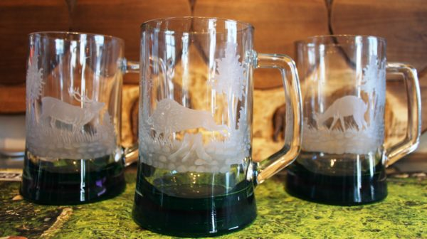 Kufel do piwa z grawerunkiem