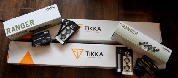 Tikka T3x lite + Montaż Optilock + Luneta Steiner Ranger 3-12×56