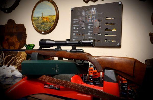 Sztucer CZ 98 kal. 30-06 Swarovski Habicht 2,5-10×56 – sprzedana