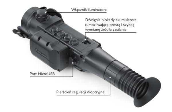 Pulsar Trail 2 XP50 LRF – na stanie cena do uzgodnienia