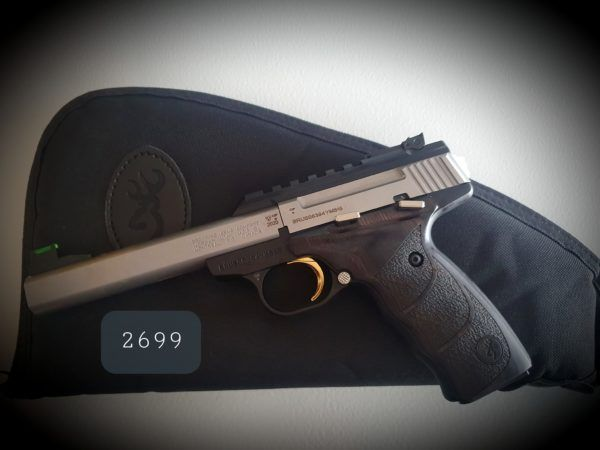 BROWNING BUCK MARK PLUS STAINLESS UDX 22LR
